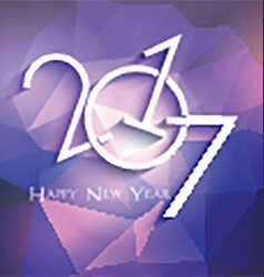Low poly new year design 0311 vector