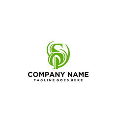 Modern and elegant letter s logo vector