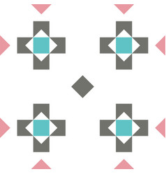seamless pastel colored geometric pattern or vector image