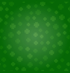 st patricks day green background a st patricks vector image