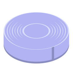 Survival tin can icon isometric style vector