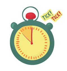 timer indicates the time is running out last vector image