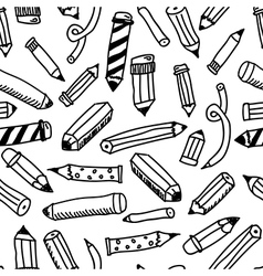 Pencils sketch collection vector image vector image