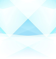Abstract Triangle Geometrical light Background vector image vector image