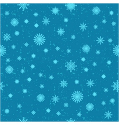 snow seamless background vector image