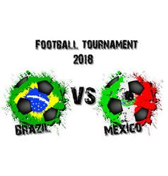 4298 - brazil vs switzerland vector image