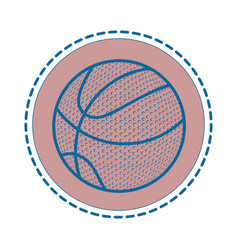 Basketball sport game vector