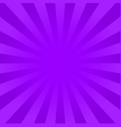 bright violet rays background vector image