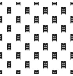 Drinks refrigerator pattern seamless vector