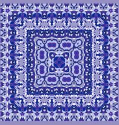 Elegant square light blue abstract pattern vector