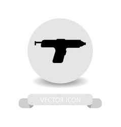 glue gun icon vector image