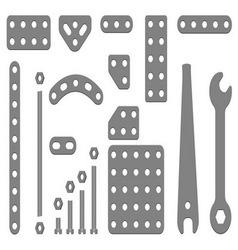 Iron constructor vector