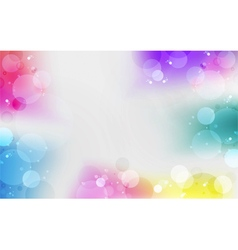 Multi color gradient background vector image