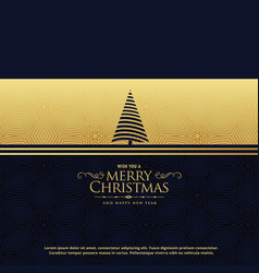Premium christmas holiday greeting card design in vector
