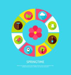 Spring time concept vector