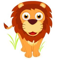 Happy Little lion vector image vector image