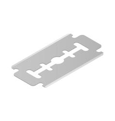 Razor blade icon isometric 3d style vector image