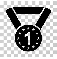 first medal icon vector image