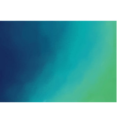 Aqua menthe ocean hand painted abstract background vector