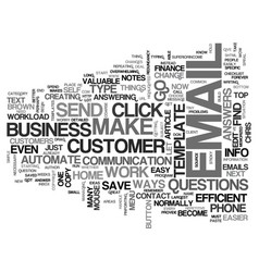 automate your repetitive home business tasks text vector image