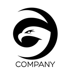 eagle g letter logo vector image