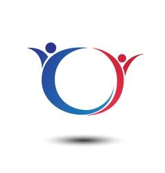 Human logo vector