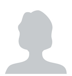 Person gray photo placeholder woman vector