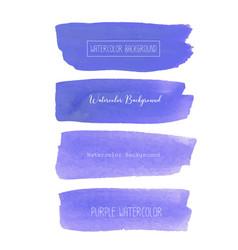 purple watercolor background pastel watercolor vector image