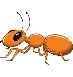 Red ant cartoon vector image vector image