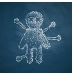 Voodoo Doll icon vector