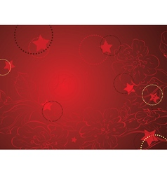 Decorative Sakura Background7 vector image vector image