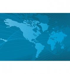 3d world map vector