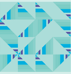 abstract truchet geometric seamless pattern vector image