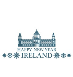 Greeting Card Ireland vector image