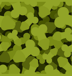 Penis military seamless pattern member army vector