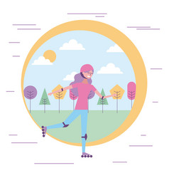people character image vector image