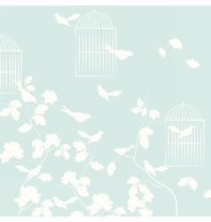 Pigeons birds background vector