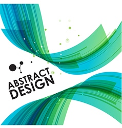 Abstract technology bend background vector image