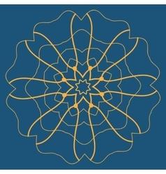 Mandala Tattoo Mehndi Style Basis for vector image