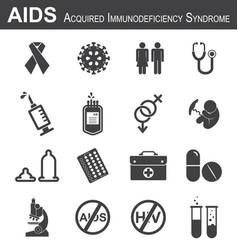 aids icon vector image