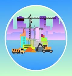 Construction site vector