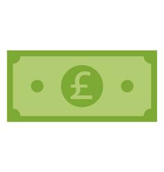 pound icon on white background flat style pound vector image
