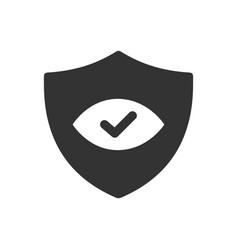 Security sheild icon vector