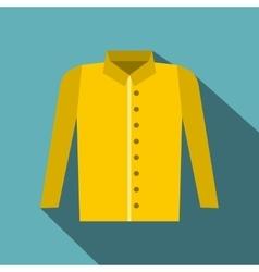 Shirt icon flat style vector image