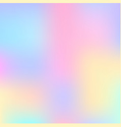 Stylish holographic background vector