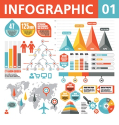 Infographic Elements 01 vector image