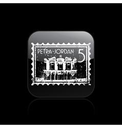 petra icon vector image vector image