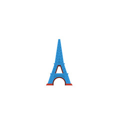 flat icon eiffel tower element vector image