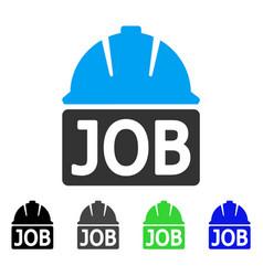 Job flat icon vector