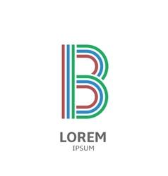 LOREM ipsum B vector image